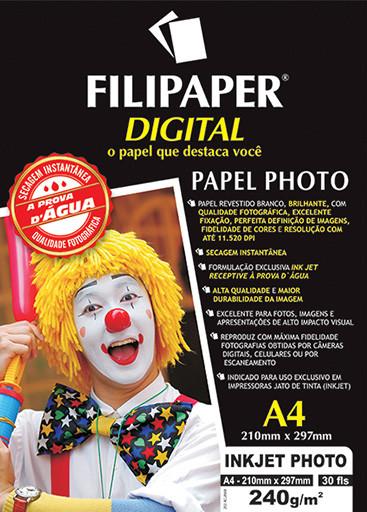 Filipaper Inkjet Photo Pro 240g/m² A4 30fls - FP02579