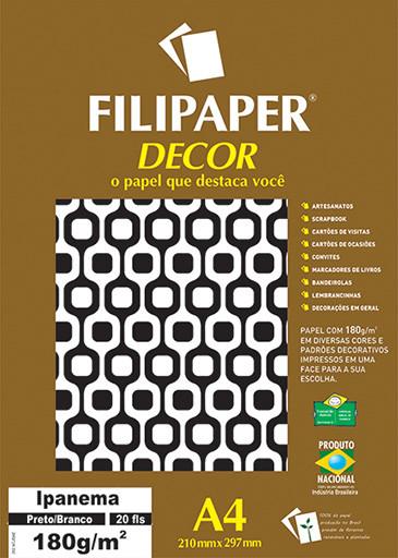 Filipaper DECOR Ipanema - 180g/m² A4 (20fls) - FP02720