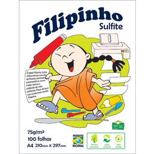 Filipinho Sulfite A4 - FRETE GRÁTIS - FP02304