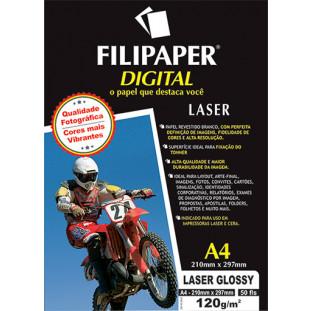 Filipaper Laser Glossy Pro 120g/m² A4 50fls. - FP02510