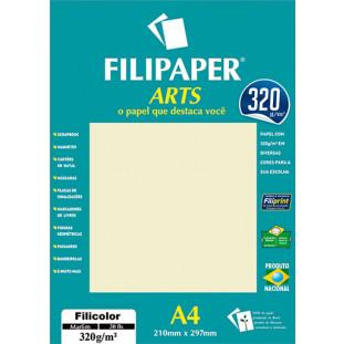 FIlipaper ARTS 320 g/m² (30 folhas; Marfim) A4 - FP02593
