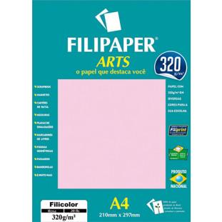 FIlipaper ARTS 320 g/m² (30 folhas; Rosa) A4 - FP02595