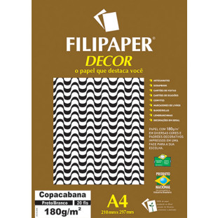 Filipaper DECOR Copacabana - 180g/m² A4 (20fls) - FP02719