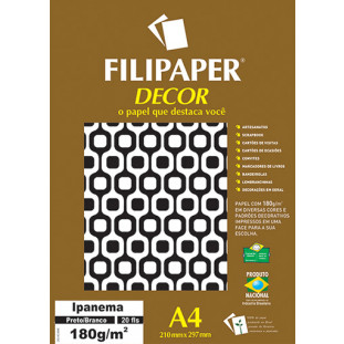 Filipaper DECOR Ipanema - 180g/m² A4 (20fls) - FP02720