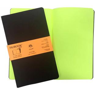 Filibook Note Café 75gm² miolo Amarelo LUMI (M) 21cm X 12,5 cm - FRETE GRÁTIS - FP00703