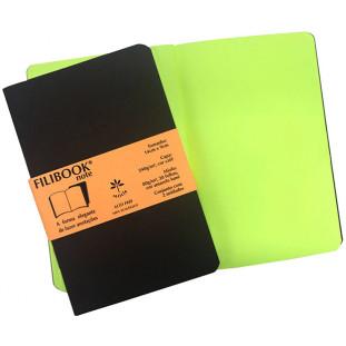 Filibook Note Café 75gm² miolo Amarelo LUMI (P) 14cm X 9cm - FRETE GRÁTIS - FP00702